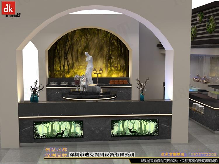 江西自助餐厅石英石自助餐台 整体餐厅餐台设计 广东专业设计酒店自助餐台 自助餐厅设计 酒店自助餐台图片布菲台 (4).jpg