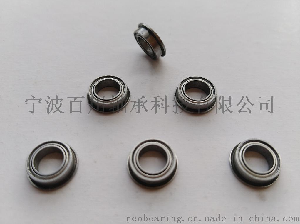 SF604ZZ/2RS 纯不锈钢材质微型法兰轴承44770212