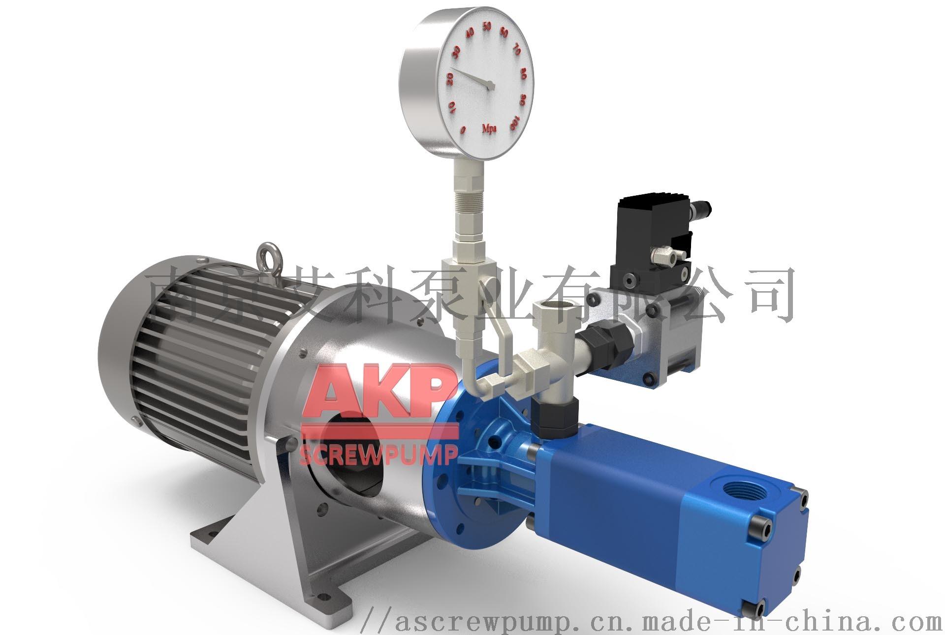 高压机床冷却泵ATS25-50-S-L-A-G-KB 流量31.6升每分钟压力70bar主轴中心出水刀具冷却排屑断屑现货配套供应卧式加工中心790998055