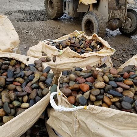 天然鹅卵石滤料