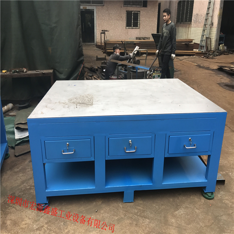深圳市宏源鑫盛工业设备有限公司生产钳工工作台48109325