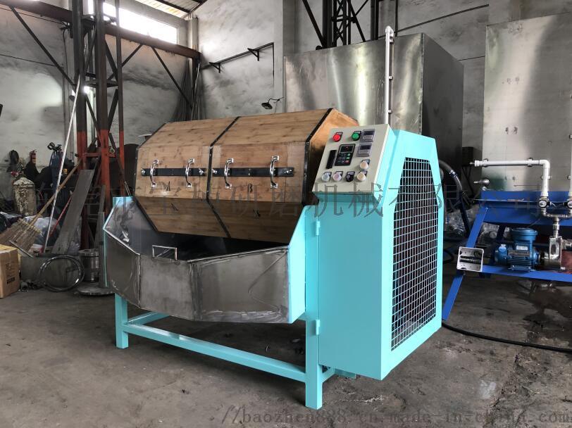 单双层干式木滚桶抛光机(研磨机、抛磨机、光饰机)835350105