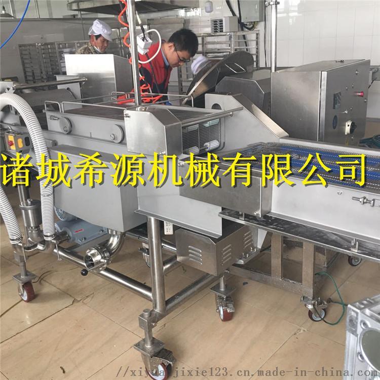 2020批量生产 全自动上浆裹糠机油炸机 上粉机120730762