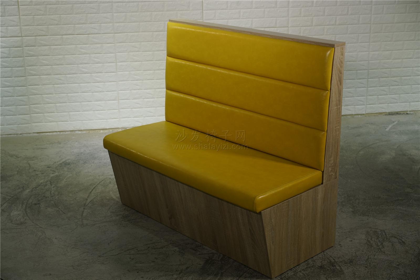 时尚主题火锅店卡座沙发定做91017255