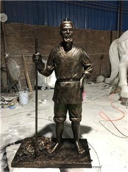 大型玻璃鋼系列仿銅人物雕塑廠家91313055