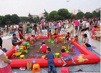 河南儿童充气沙滩池决明子真好沙池740940872