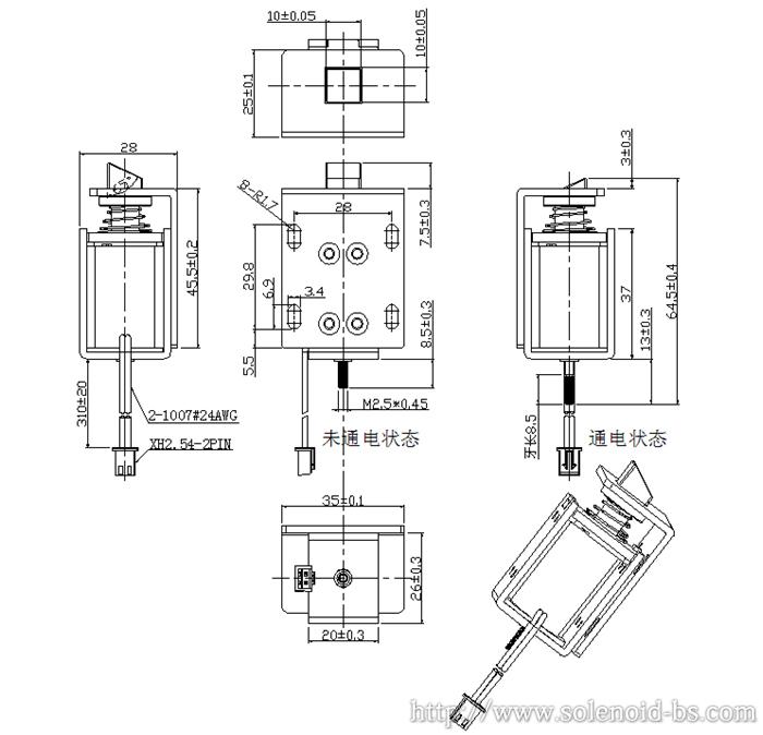 医疗设备电磁铁 BS-0837S-16264796375