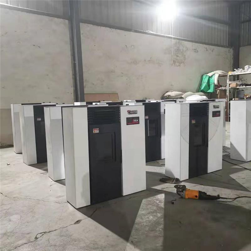 多型号风暖式采暖炉 智能控温小型生物质颗粒炉取暖炉825504612