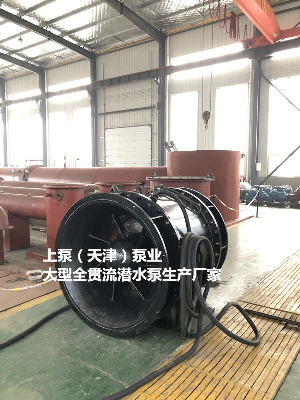 竖井式安装QGWZ潜水贯流泵834414615