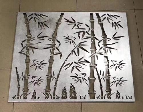 镂空雕花铝单板 铝单板竹叶雕刻 艺术镂空铝单板.jpg