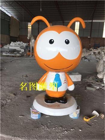 幼兒園卡通人物雕塑,玻璃鋼卡通雕塑90180615