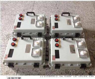 订做工厂事故风机防爆控制箱802900055
