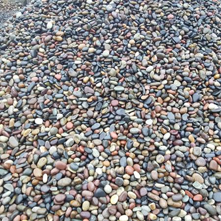 天然五彩鹅卵石3-5公分