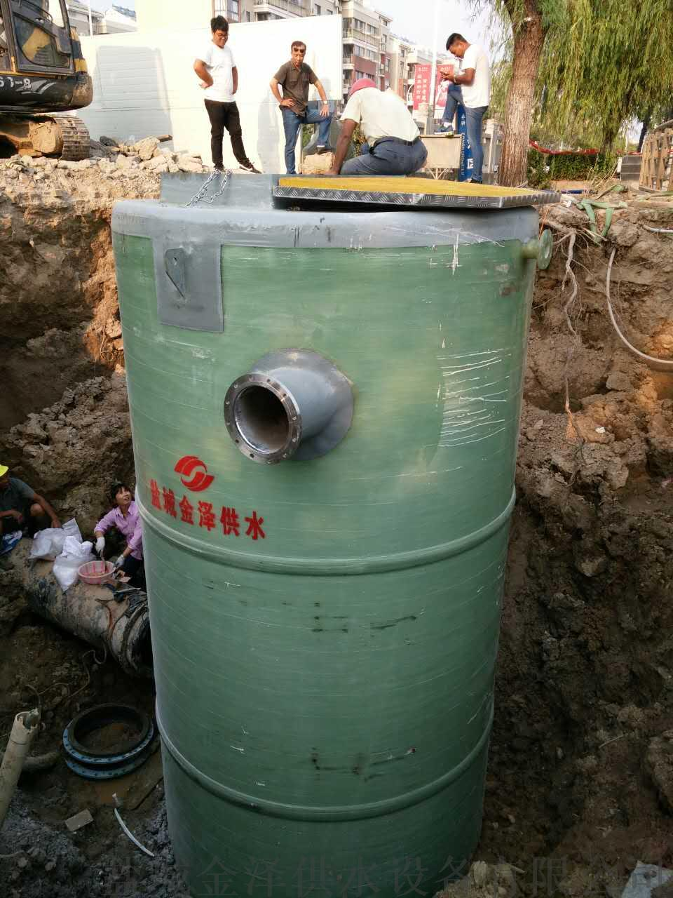 進口水泵品牌一體化污水提升泵站廠家130660075