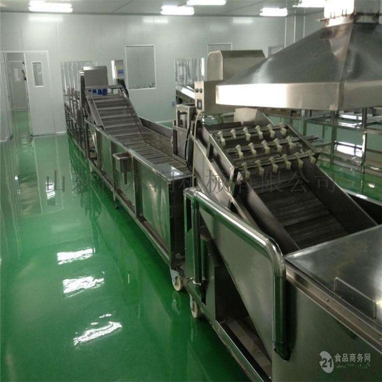 鸡毛菜清洗沥水机 净菜加工设备 油菜清洗机流水线75872982
