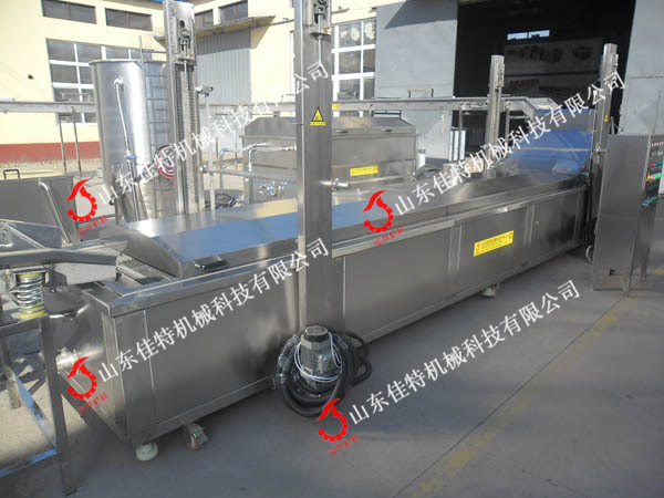 江苏油条油炸流水线 电加热油炸流水线45810012