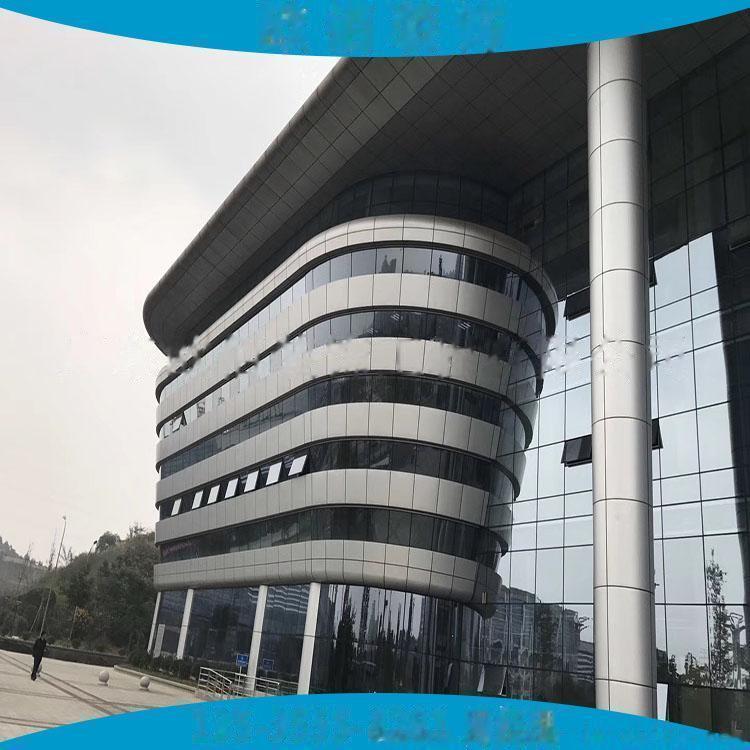 江苏地区2.5毫米厚外墙灰色氟碳漆铝单板 现场量尺定制3毫米厚外墙装饰氟碳铝板61337275