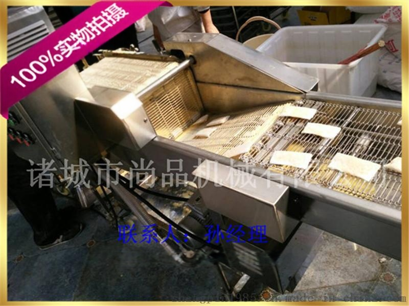 魚排酥上粉機 魚排酥上漿機 魚排酥油炸機生產線37052642