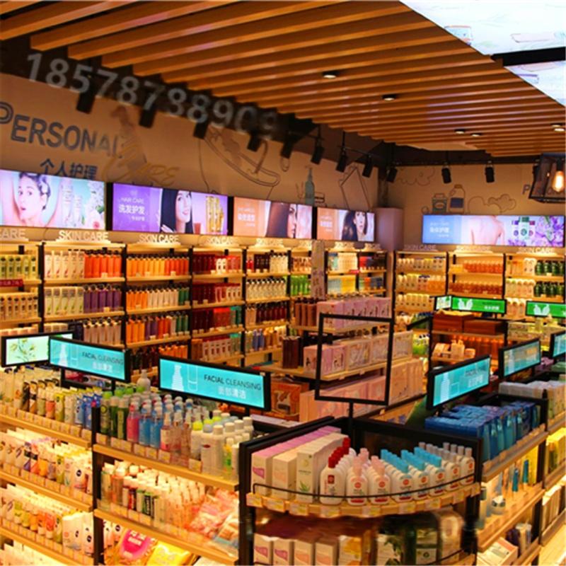 廣州化妝品店美容護膚品化妝品展示櫃展櫃櫃檯貨架741231342