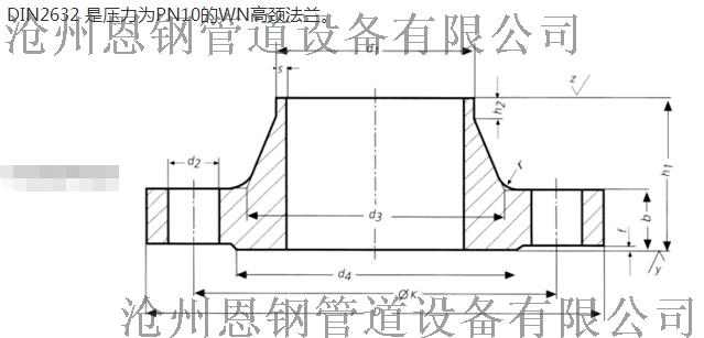 DIN2632法兰、带颈对焊法兰沧州恩钢现货销售60551565
