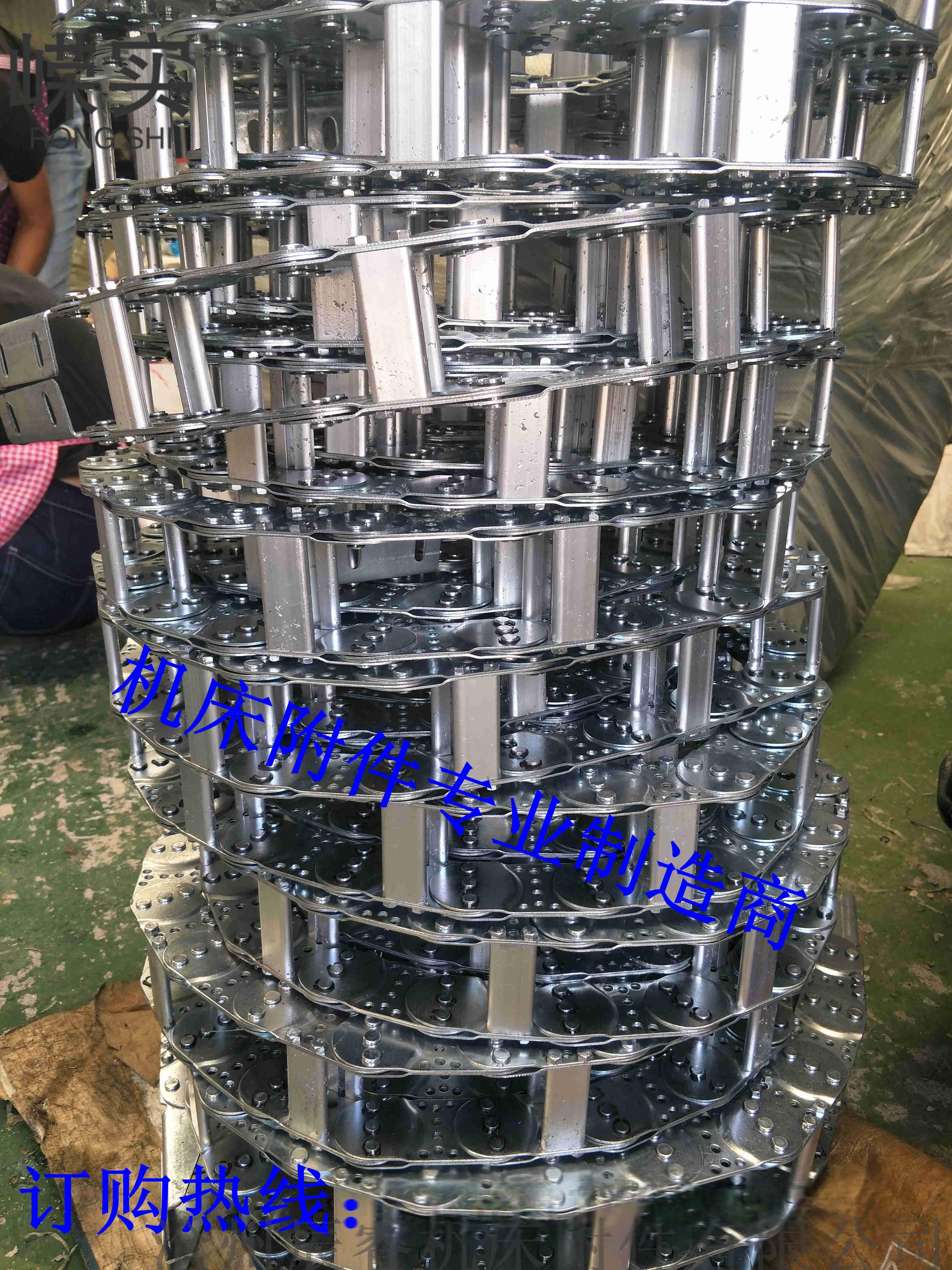 鋼廠鋼製金屬拖鏈 滄州辰睿金屬拖鏈123419835