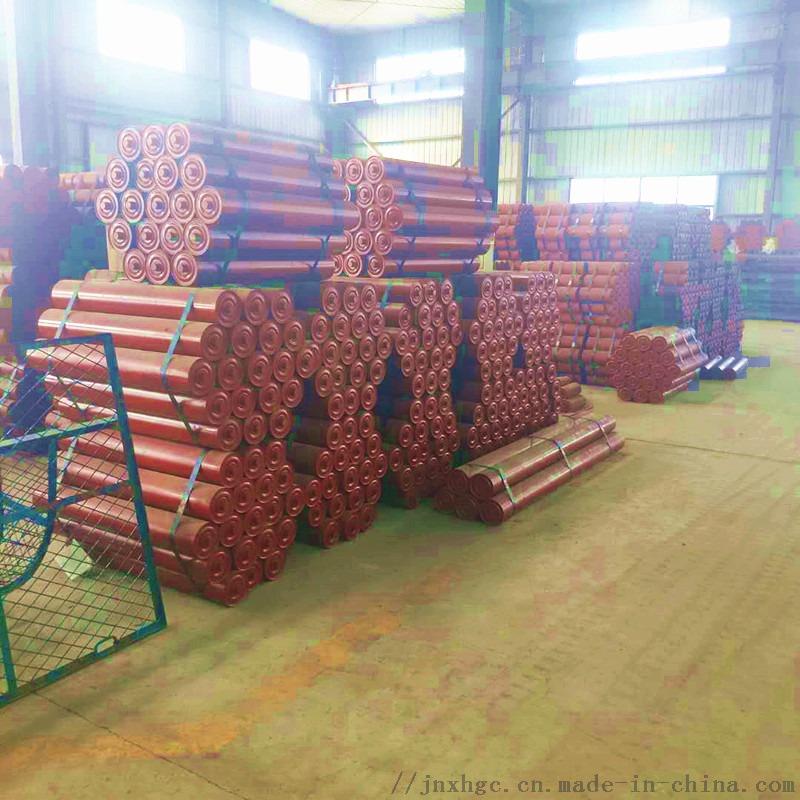 胶带输送机槽形三联托辊组 铸胶缓冲槽形三联托辊组131017102