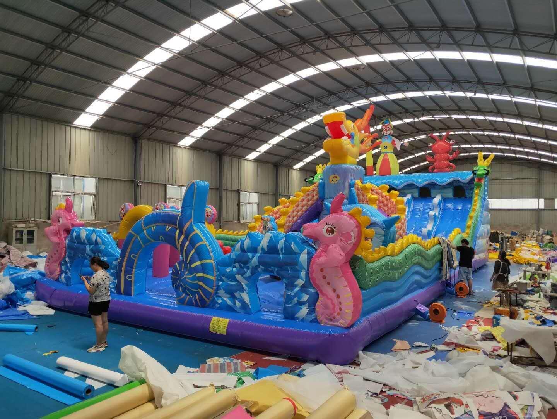 河南三門峽大型新款充氣滑梯廠家直銷828135832