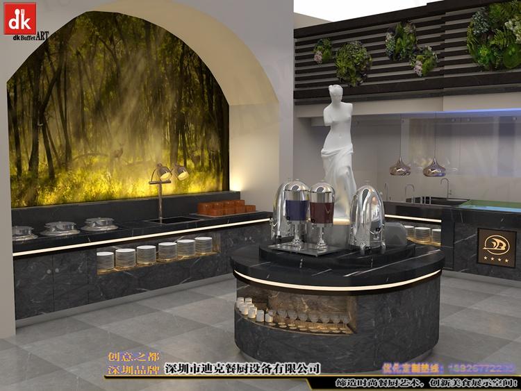 江西自助餐厅石英石自助餐台 整体餐厅餐台设计 广东专业设计酒店自助餐台 自助餐厅设计 酒店自助餐台图片布菲台 (7).jpg