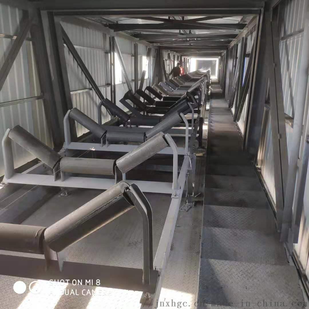 水泥厂胶带机35度上托辊 108直径35度上托辊组866942962