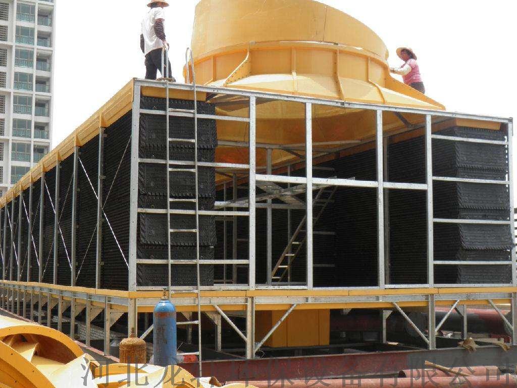 廠家直銷HBLG工業型橫流式冷卻塔 玻璃鋼冷卻塔821219042