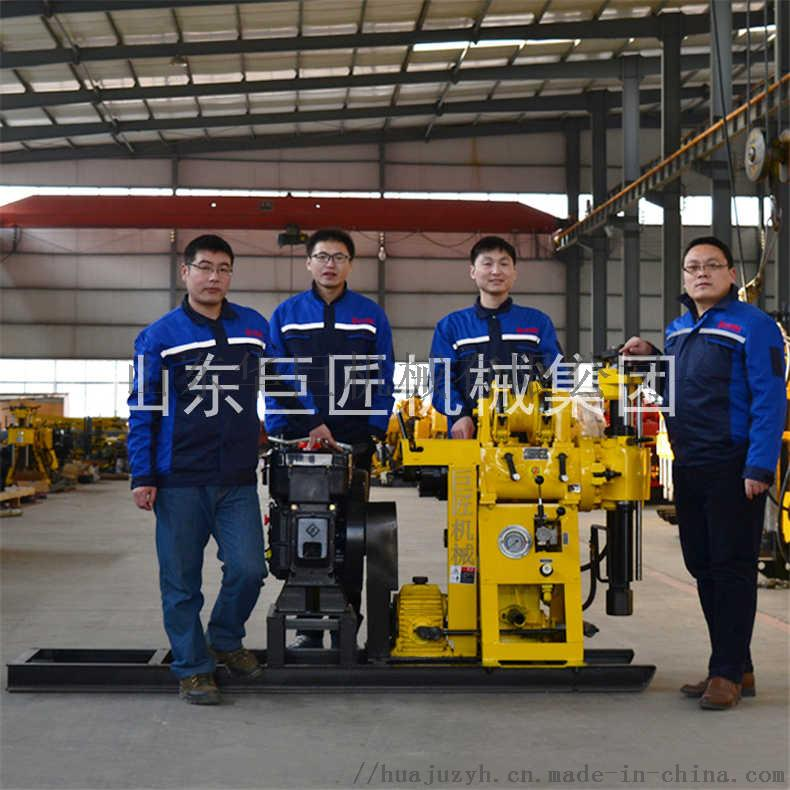 巨匠提供HZ-130Y百米勘探鑽機全液壓岩心鑽機817441702