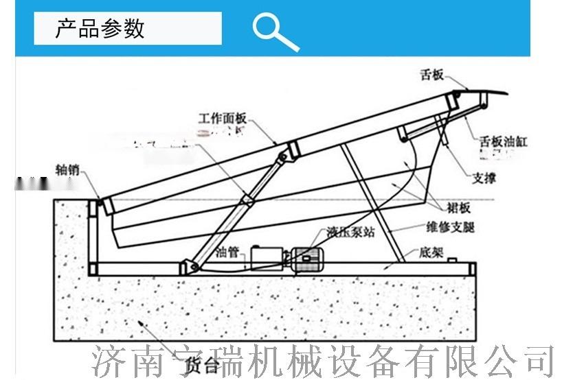 现货供应固定式货车登车桥 仓库液压登车桥119159302