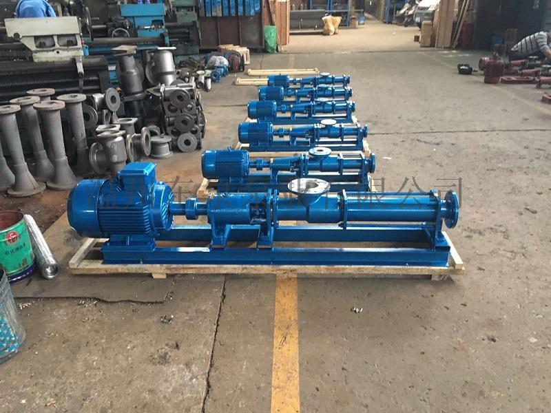 G型单螺杆污泥泵,不锈钢螺杆泵60152595