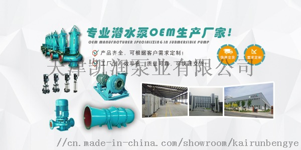 600QZ雪橇式潜水轴流泵选凯润泵业94639475