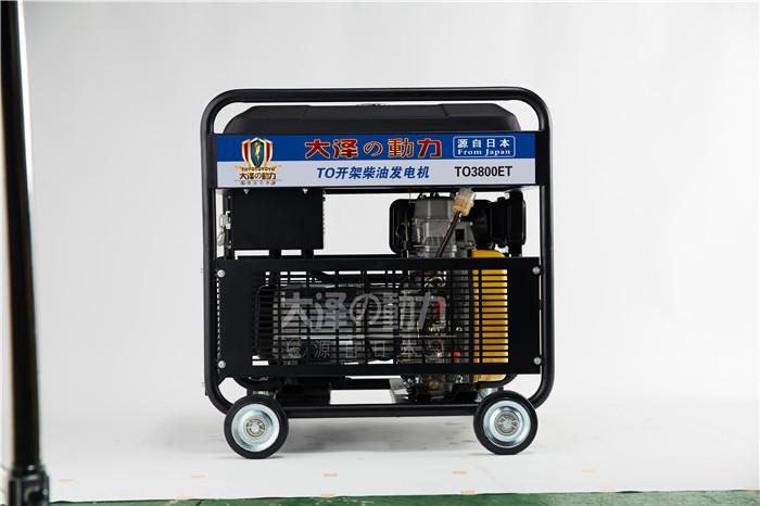 无刷3kw柴油发电机100316292