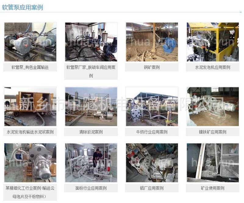 工业软管泵价格 软管泵橡胶软管直销