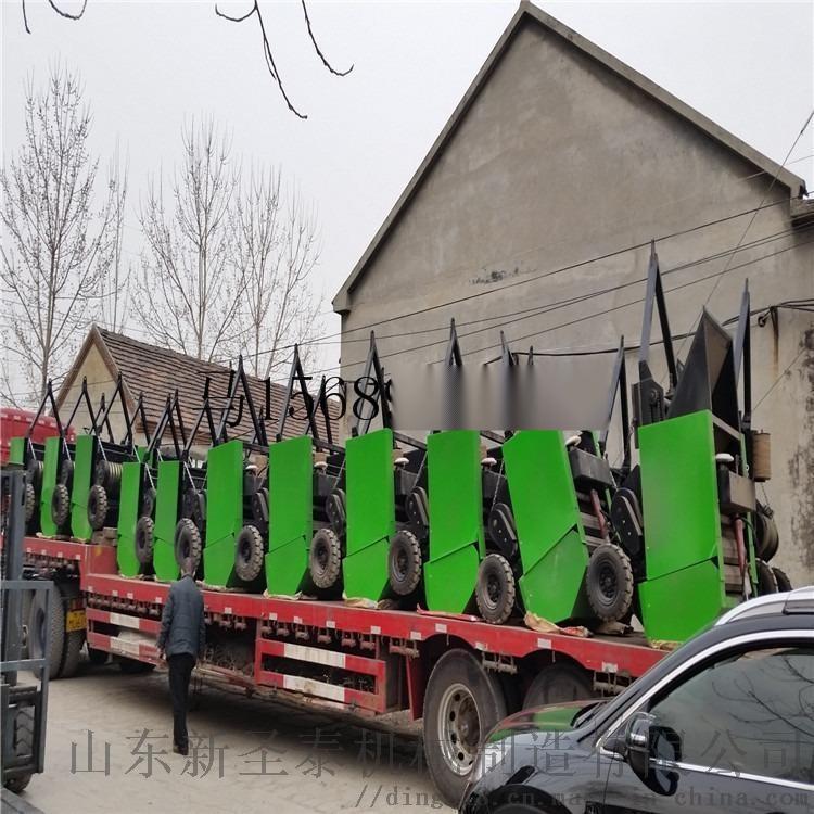 捡拾进料打捆机   大型全自动草捆捡拾机809760735
