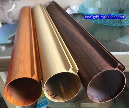 木纹铝圆管 铝圆管规格 铝型材圆管