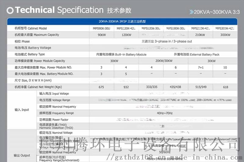 寶星模組化UPS電源MPS90K-3U 90KW122668145