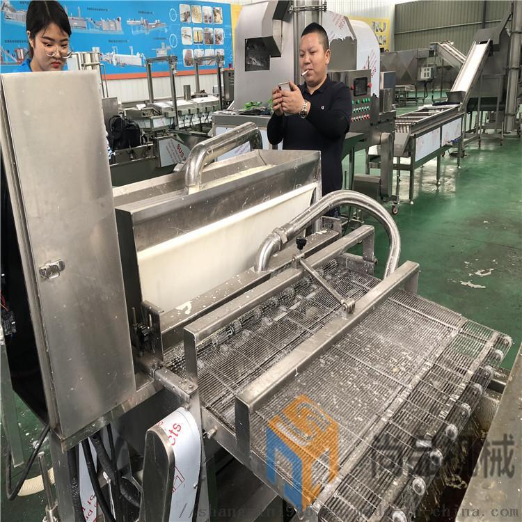 鸡排沾浆机 咔吱脆鸡排生产线 鸡排裹浆机93081612