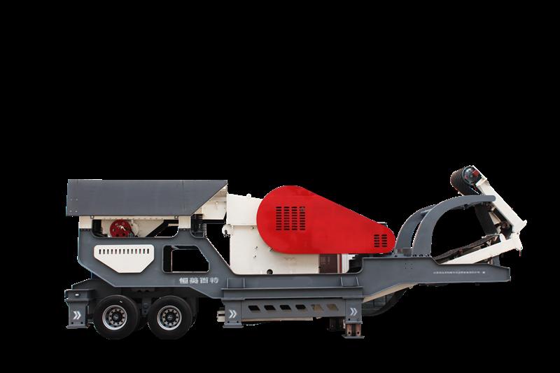 移动式破碎机 建筑垃圾破碎机 花岗岩移动制砂机818818072
