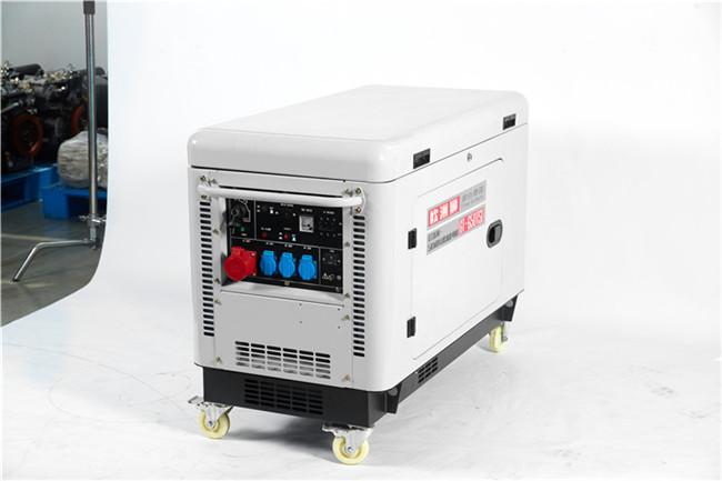 电启动静音5kw柴油发电机型号98966982