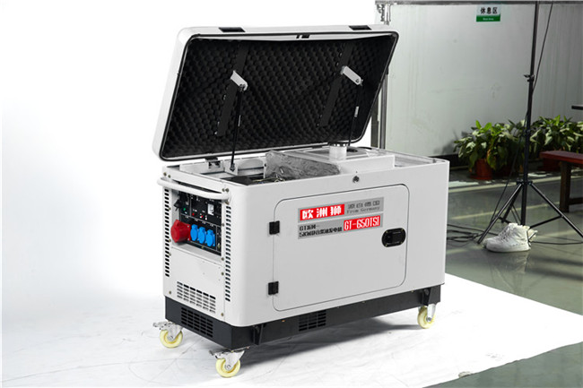电启动静音5kw柴油发电机型号98966972