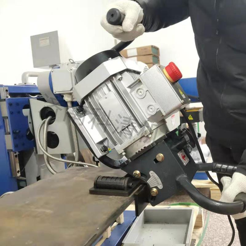 当天提货钢板铣边机手提式SKF-15方管坡口机826526572