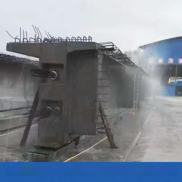 山西吕梁梁场自动喷淋养护控制柜 80米全自动雾炮机