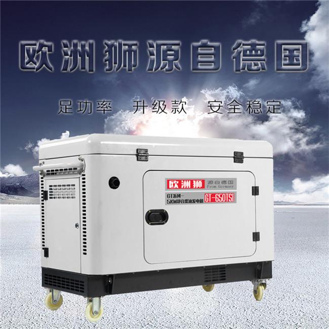 静音小型5kw柴油发电机95839082