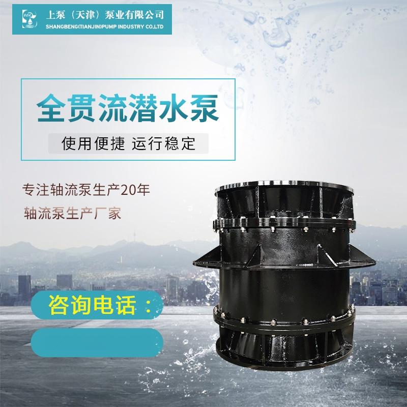 湿定子结构QGWZ贯流泵厂家913822575