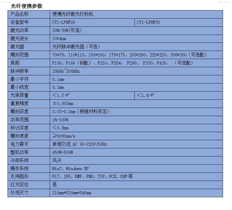 光纤激光打标机 金属塑胶刻字机150802345