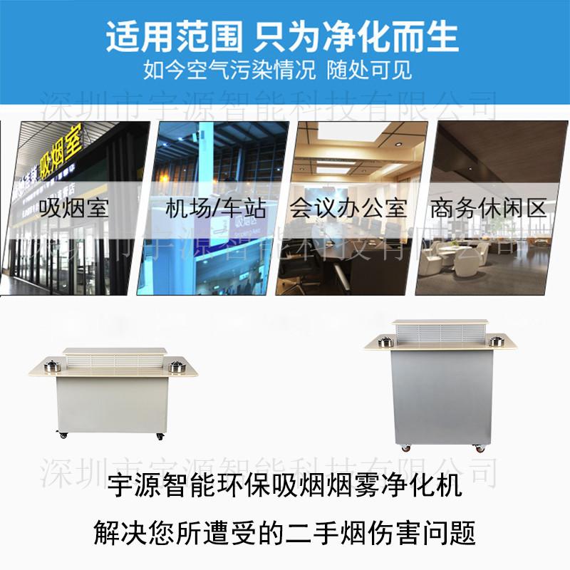 供應立式鋼結構煙霧淨化空氣淨化器 吸菸室空氣淨化器796163545