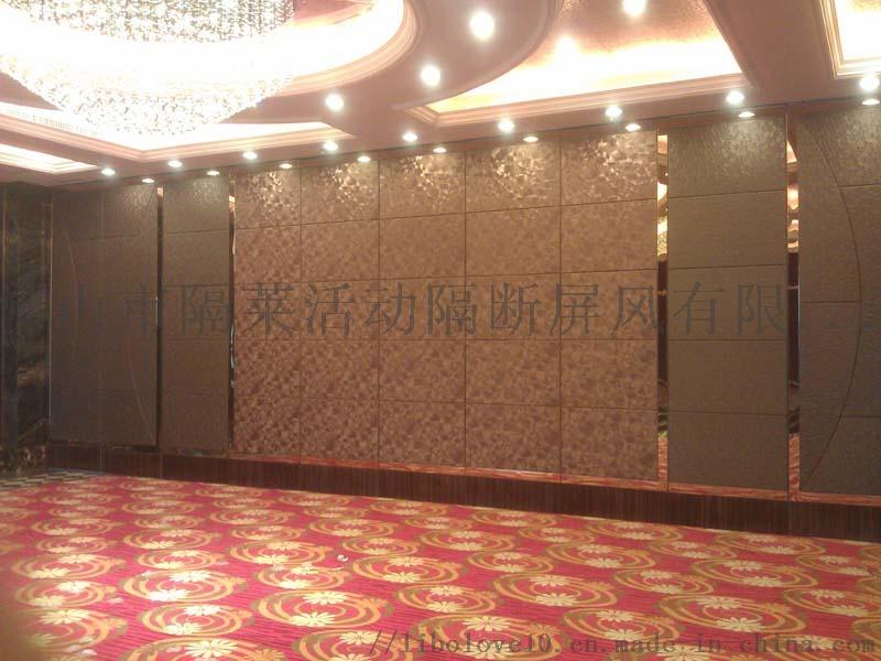 長沙酒店活動隔斷牆廠家吊軌推拉門上門安裝專業快速81319175